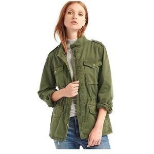 GAP army green utility jacket